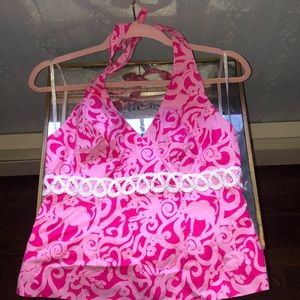 Lilly Pulitzer w/tags Halter Top